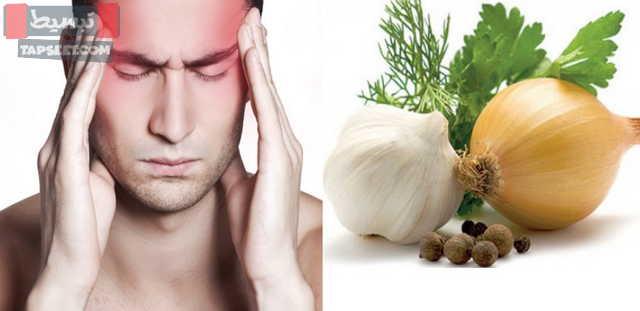 علاج الصداع النصفي بالاعشاب الطبيعية